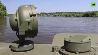 Инженерные работы и военная биолаборатория в подтопленном районе Иркутской области — видео