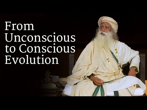 From Unconscious to Conscious Evolution