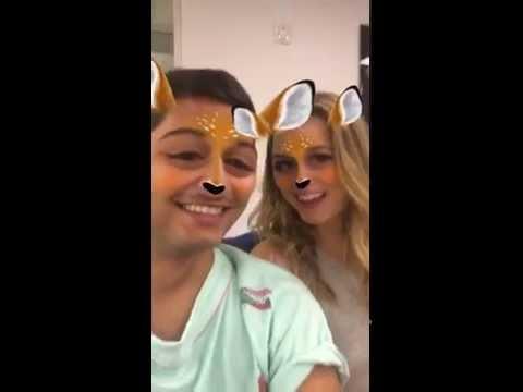 Elizabeth Lail @ Mark Indelicato Snapchat, 23/08/16 3