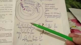 805 Алгебра 8 класс. Пересечение и объединение множеств. Неравенства с одной переменной
