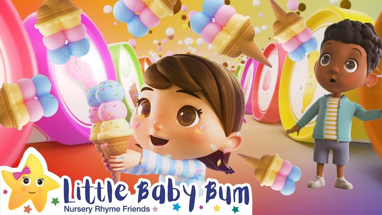 Ice Cream Song ! | Kids Songs | Videos For Kids | Moonbug Kids After School