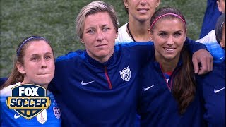 Wambach says thanks and goodbye to the fans |  2015 International Friendly