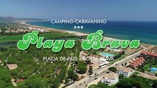 Filmació aèria a Camping-Caravaning Playa Brava