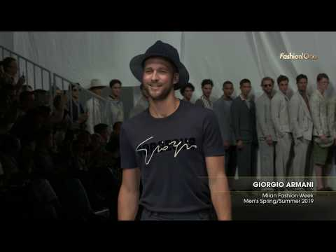 GIORGIO ARMANI Milan Fashion Week Men's Spring/Summer 2019 Highlight