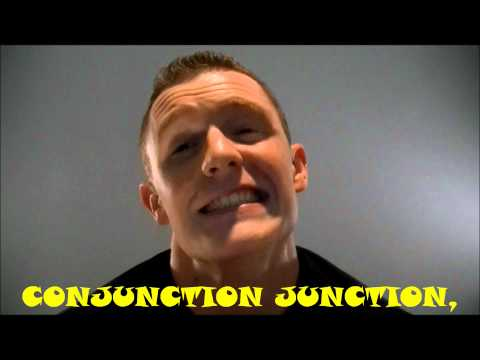 Conjunction Junction Sing-Along with Lyrics School House Rock