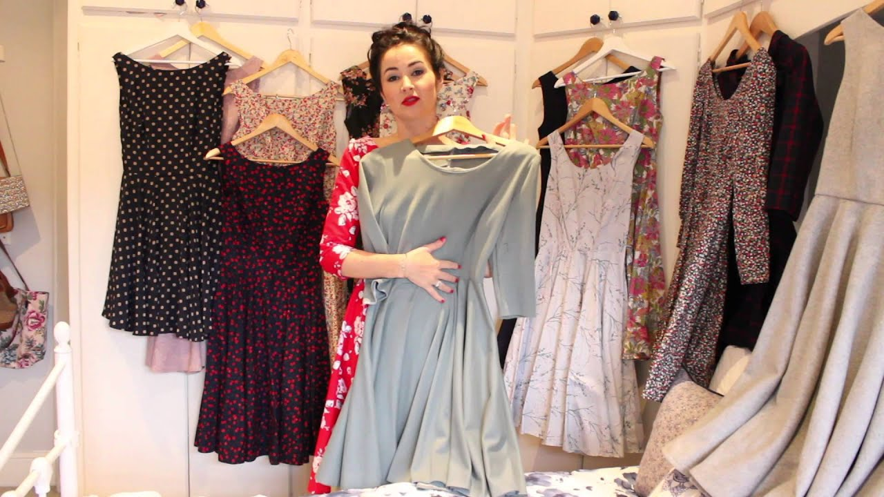 New Betty Necklines & My Betty Dress Collection - YouTube