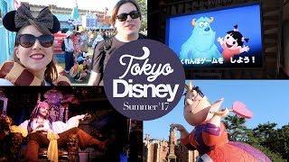 Tokyo Disneyland Part 2! Monster's Inc, Pooh, Cinders & Parade! Japan Summer 2017
