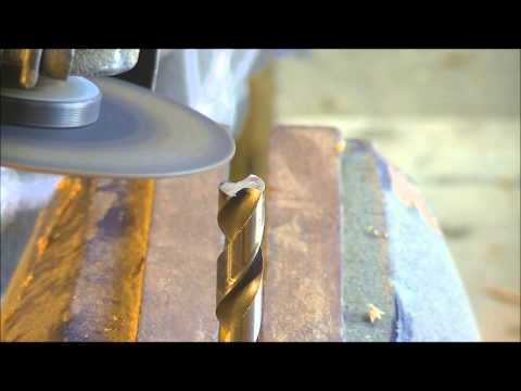 84 make an end mill or slot drill from a standard HSS drill  .