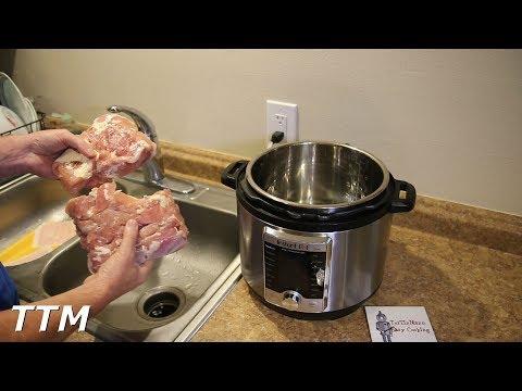 How to cook frozen chicken legs in instant pot