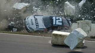 Best NASCAR Crashes at Watkins Glen thumbnail