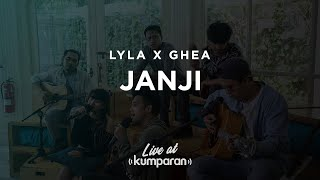 Lyla x Ghea - Janji | Live at kumparan