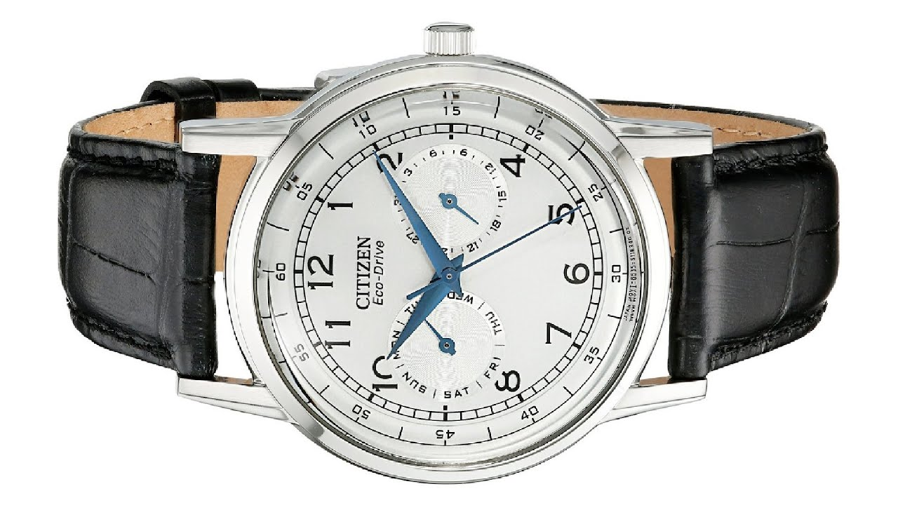 e076904b573756 Citizen Men's Eco-Drive Stainless Steel Casual Watch - YouTube