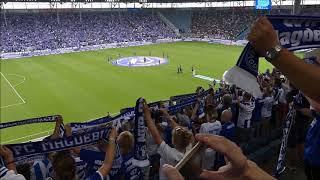 Vor dem 1. Spiel in der 2. Liga unser 1. FCM gegen St. Pauli 05.08.2018