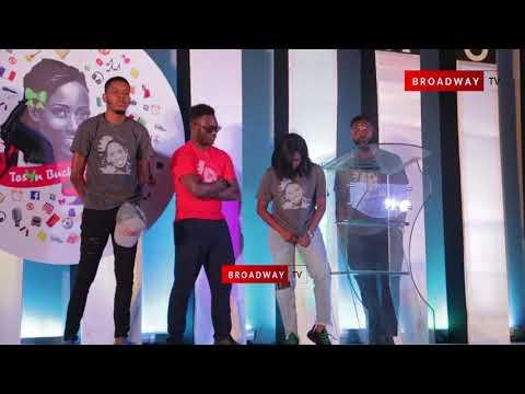 FULL: Alibaba, Omawunmi, Toke Makinwa and more at Tosyn Bucknor's Service of Song