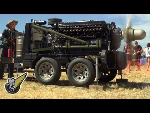 WW2 Aircraft Engine: Allison v12 1710