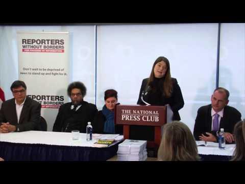 Delphine Halgand calls for President Obama to pardon Jeffrey Sterling, 02-17-2016