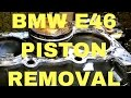 BMW e46 piston rings removal and why M54 burning oil