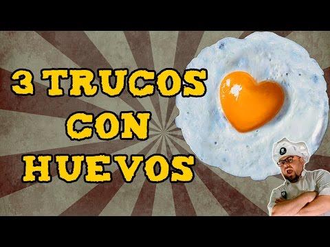 3 trucos asombrosos con huevos