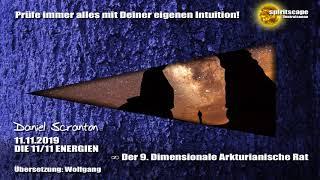 DIE 11/11 ENERGIEN ∞ Der 9D. Arkturianische Rat