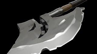 Team Fortress 2 Крафтим секиру пешего всадника без головы необычного типа!