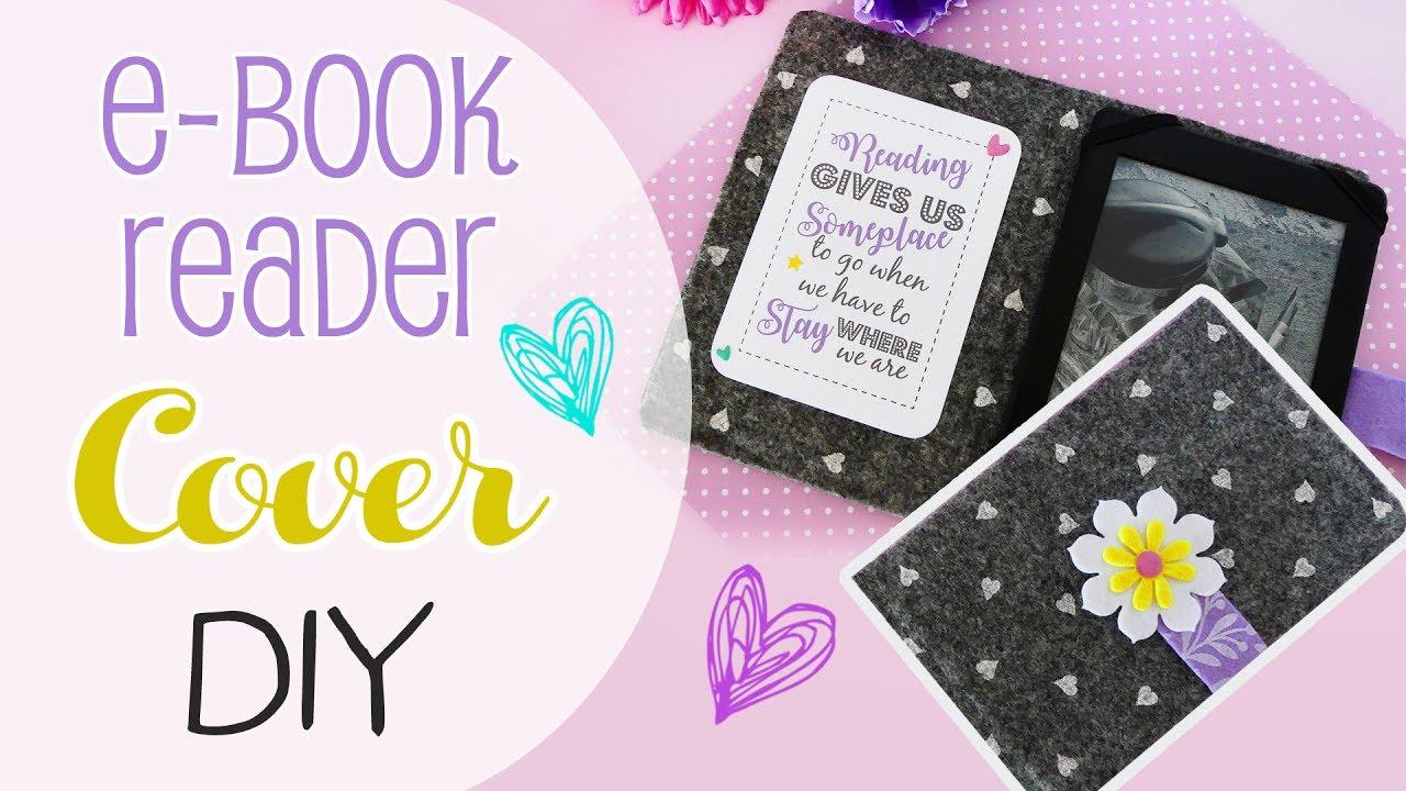 Diy Ereader Book Cover ~ Diy cover ebook reader in feltro per lettore di