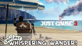 ASMR Gaming Just Cause 3 PC (Max Settings Binaural 3D) A Wandering Whisper Through The World