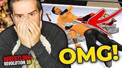 SOMEONE DIES IN THE RING!!   WR3D Career Mode (Wrestling Revolution 3D)