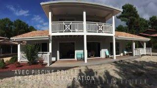 Location Maison/Villa de vacances Carcans plage avec piscine (10 personnes)