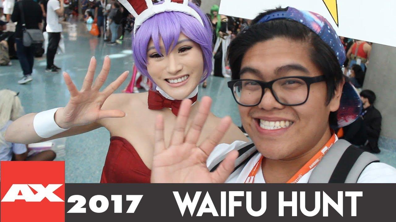 Waifu Hunt Anime Expo 2017 Vs Hermsaur Youtube