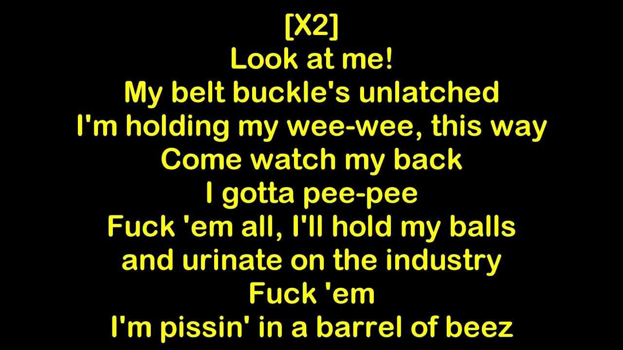yelawolf pissin in a barrel of beez mixtape