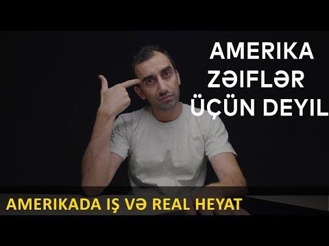 Amerikada İlk Gələndə Nə Iş Görə Bilərsən Ve Reallıq / Royal Ismayilov /4k Video