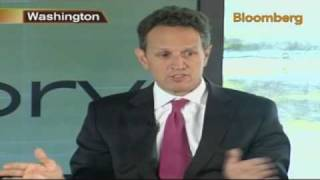 Geithner Says Early Global Strategy Helped Curb Crisis: Video