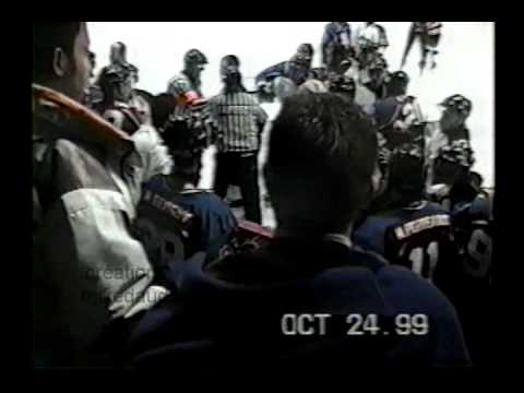 hockey fight general thetford mine vs sorel 24 oct 99