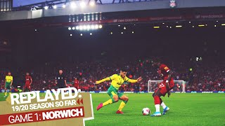 2019/20 Replayed: Liverpool 4-1 Norwich City   Reds Kick Off The Season In Style