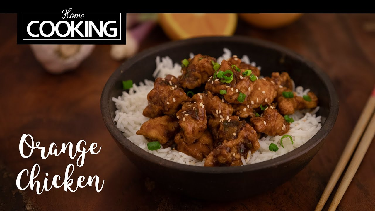 Orange Chicken Chicken Recipes Youtube