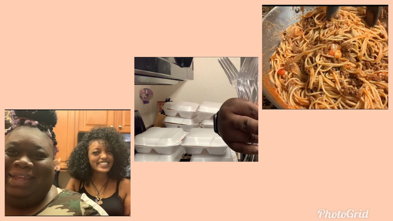 Cook Spaghetti with me|blessing my kings & queens