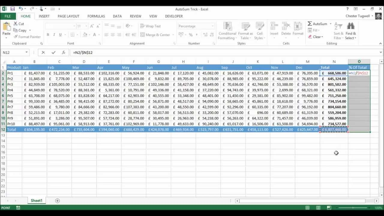 Copying Formula: Hidden Secrets in Excel