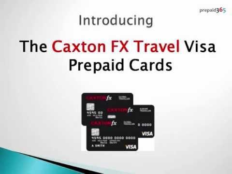 Caxton FX Prepaid Travel Card Review @Prepaid365