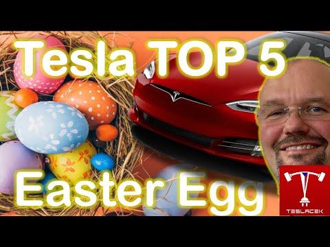 #189 Tesla TOP 5 Easter Eggů | Teslacek