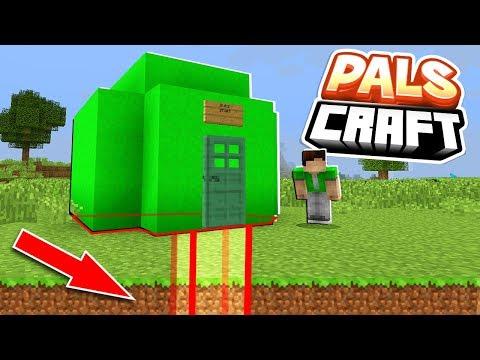 BUILDING SUB'S SECRET SHACK!   PalsCraft #1