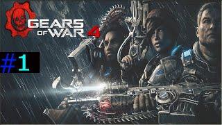 Gears of War |#1 Ponto de ASPHO Dublado e legendado em PT- BR| (xbox 1080p 60fps)