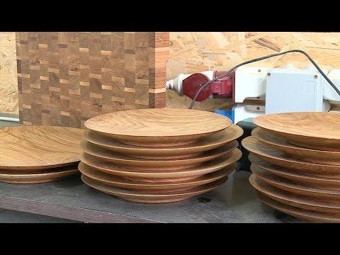 Волжские мастера изготавливают эксклюзивную посуду и мебель
