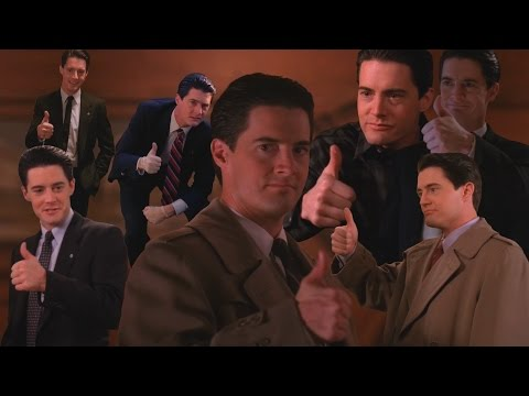 Every thumbs up by Special Agent Dale Cooper (Seasons 1-2)