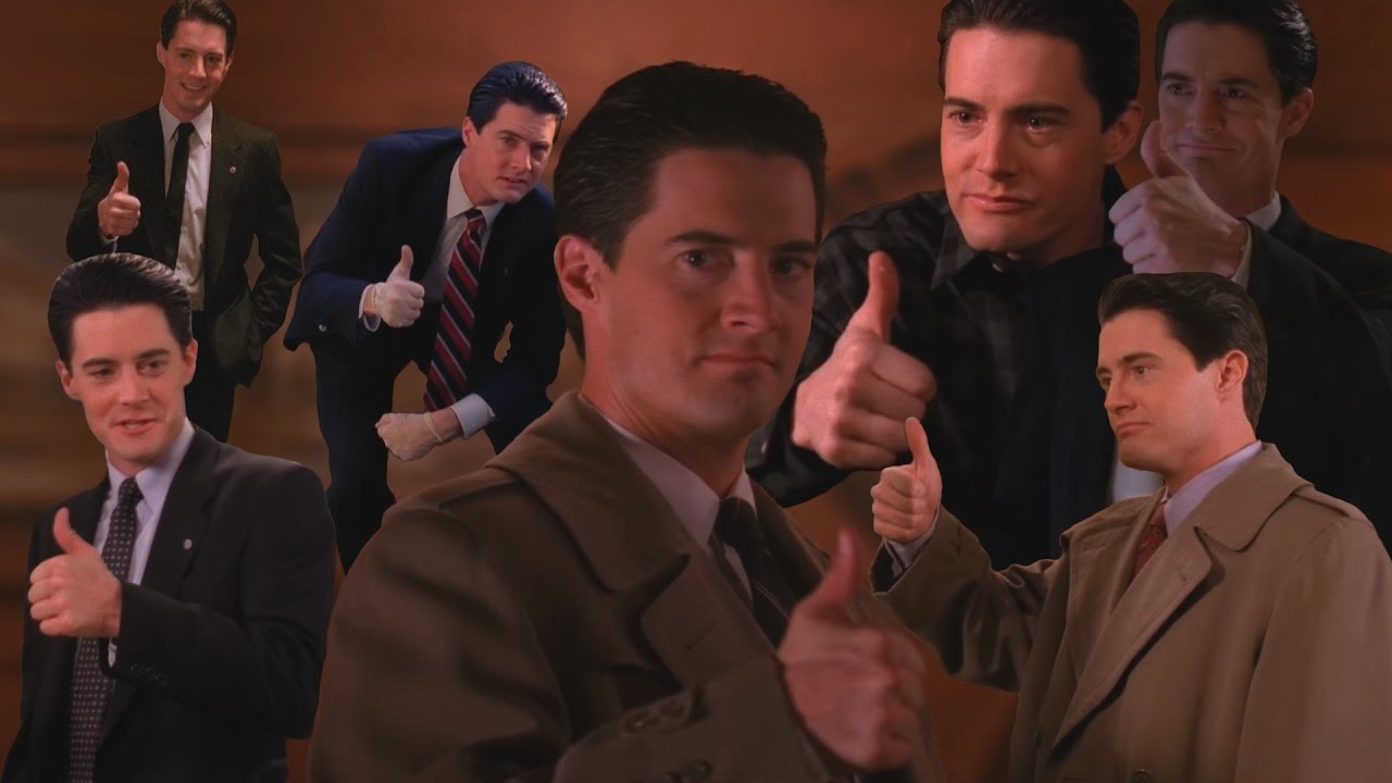 agente cooper twin peaks