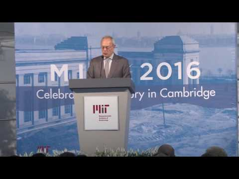 MIT President's Convocation 2016
