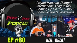 """Podcast: Ep #60 """"Coming up on P2P, Changing Playoff Format, Game Recaps + More!"""""""