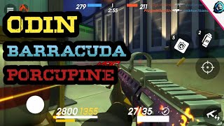 Guns Of Boom - Odin Barracuda Porcupine Gameplay