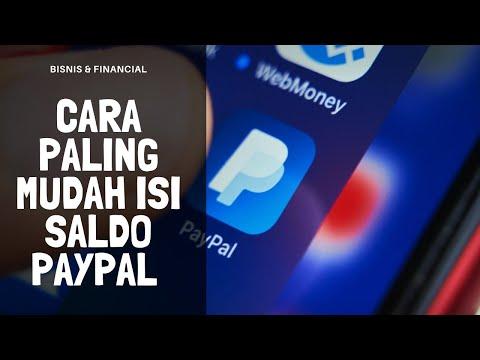 Cara Mudah Isi Saldo Paypal Dengan Gopay 2020 | Apakah Bisa Top Up Paypal Lewat Gopay.
