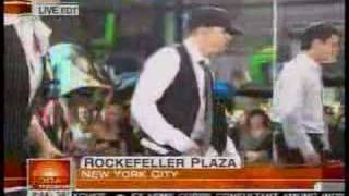 NKOTB perform on the Today Show May 16/2008 Pt.2