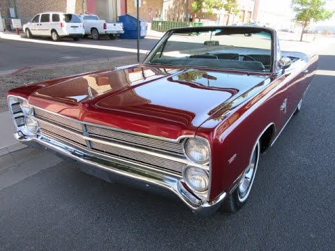 1967 Plymouth Sport Fury Convertible Walk Around
